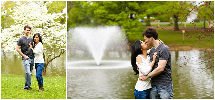 rutgers engagement photography