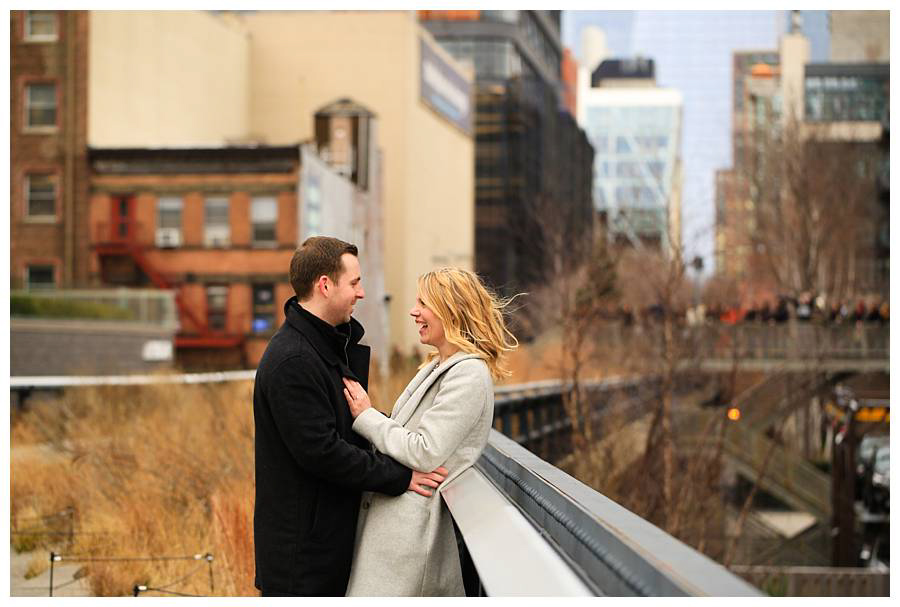 high line engagment photos