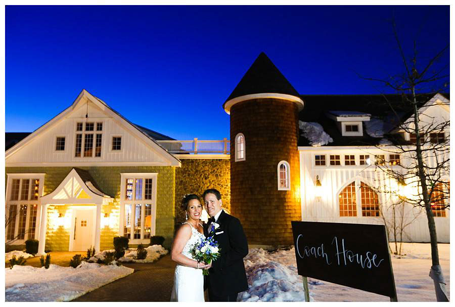ryland inn coach house wedding