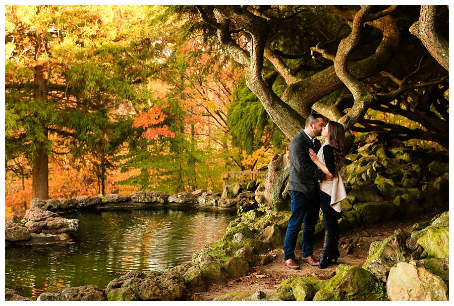 deep cut engagement photography